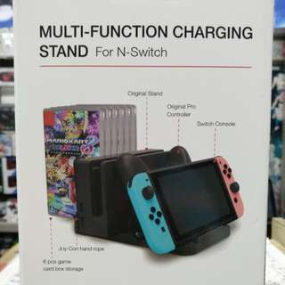 🆕 Switch Multi-Function Charging Stand