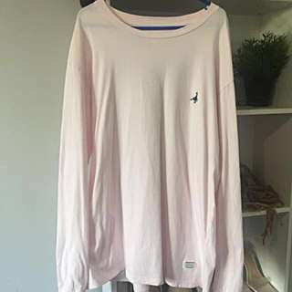 MENS Spencer Project Light Pink Long Sleeve