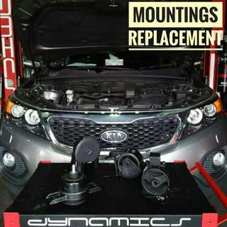 KIA Sorento Engine_Mountings replacement