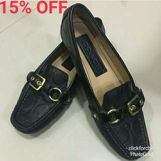 Coach Buckled Loafers