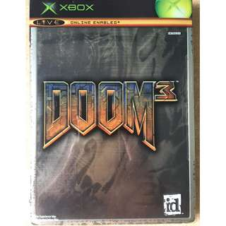 XBox Game: DOOM3 Limited Collector's Edition