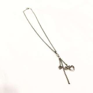 Hearts drop necklace