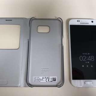 Samsung Galaxy S7 White Duo SIM 32GB with Folding Case