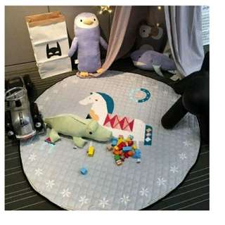 Floor mat  &  toy sack. suitable as kids and babies playmat