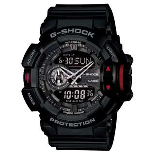 CASIO G-SHOCK GA-400 黑色 GSHOCK GA400