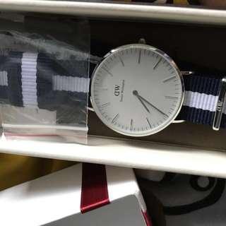 dw深藍錶帶