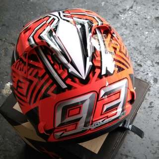 Xdot Marquez Red Fluorescent