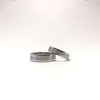 Wedding Ring 14 Karat White Gold