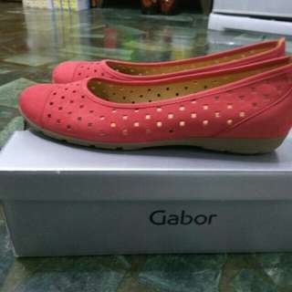 Gabor真皮平底鞋