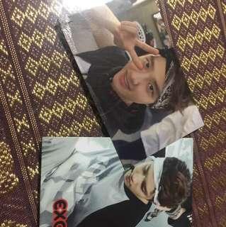 D.O kyungsoo photocards