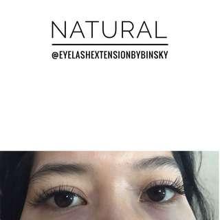 Eyelash extension murah promo