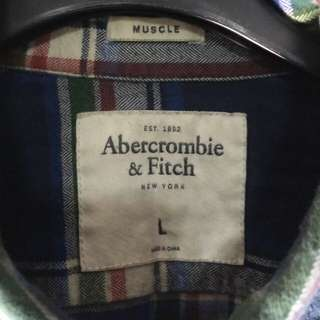 🚚 正品不議價 AF厚棉絨襯衫