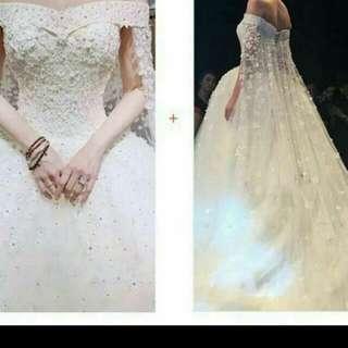 婚紗(只用一次)