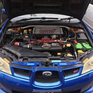 Subaru Impreza STI 4D 2.5 Manual