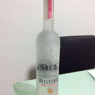 Liquor - Belvedere Pink Grapefruit Vodka 40% Alc