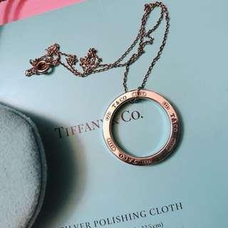 Tiffany 1837系列 環型圓圈項鍊