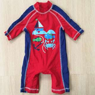 Mothercare Red Swimsuit
