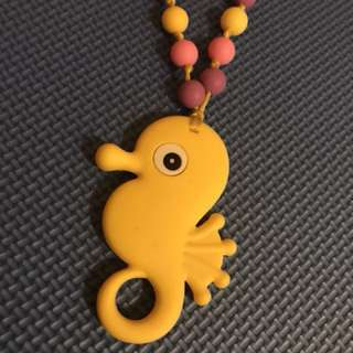 Necklace baby teether