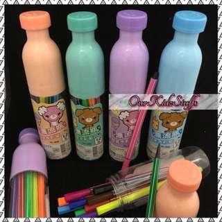 Goodie Bag Goodies: 12pcs Markers in Bottles