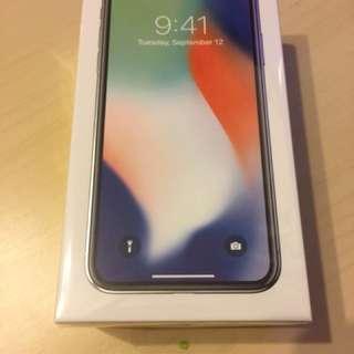 IPhone X 256g 銀色