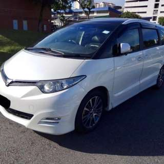 Toyota Estima 8 Seaters For Rent