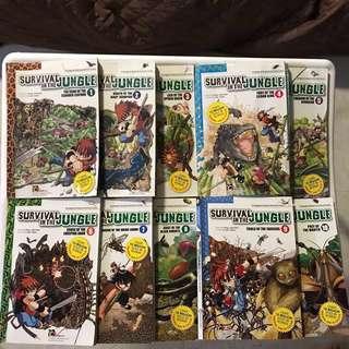 <Survival In The Jungle> books