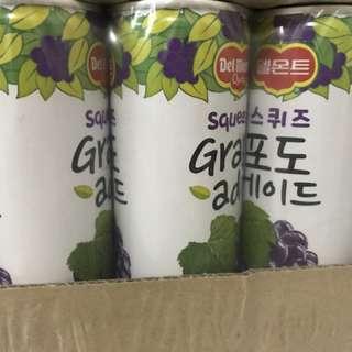 韓國葡萄飲料(即期品)