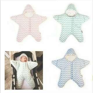 寶寶海星包巾懶人包巾