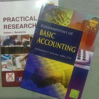 Practical Research 2 & Basic Accounting