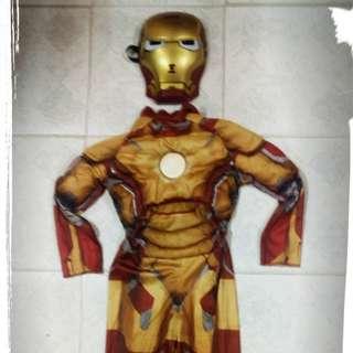 Iron Man costume 4 yrs