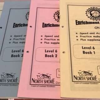 North shore Y6 enrichment maths workbook
