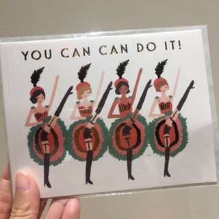 You Can Can Do It Card!