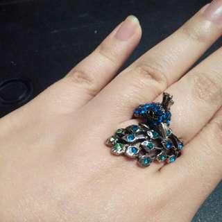 戒指 大碼 ring from accessorize L size