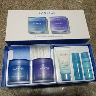 BNIB Laneige Water Sleeping Mask Signature Set