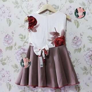 Net Dress Anak 1-2th