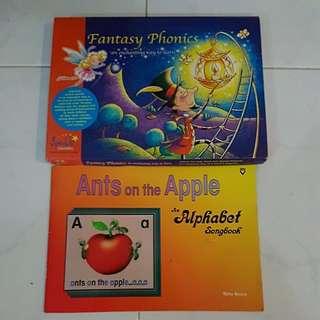 Montessori Phonics Books with 3CDs