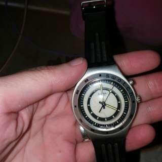 swatch 夜光面手錶(自行出價)