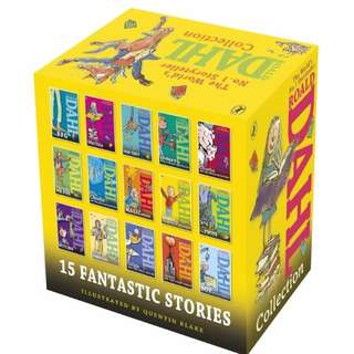 ★FREE DELIVERY★Original Roald Dahl Paper Back Series (15 Books)★Charlie & the Chocolate Factory★BFG★Mathilda★Fantastic Mr Fox★Kids Children Fiction English Story Books