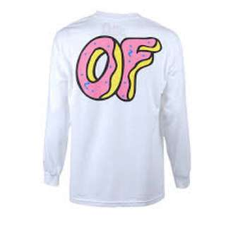 Odd Future White Long Sleeve