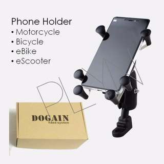 Motor Bike Phone Holder For Motorcycle Motorbike Ebike Escooter