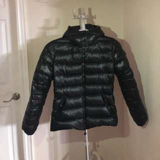 Moncler Short Down Jacket in Black size 2