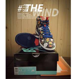 Nike SB DUNK PRO HIGH UGLY SWEATER (US8.5) 款型:881758-446 節日快樂 (Snowman)