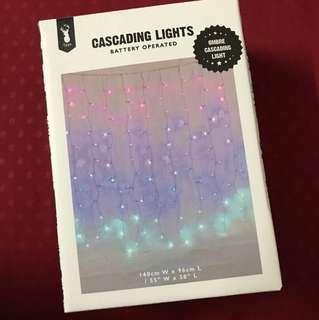 TYPO Ombré Cascading Lights