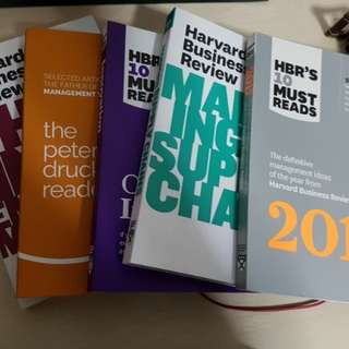 HBR Books (for business study)