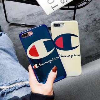 Champion Blue Ray Light Soft Shell Phone Case