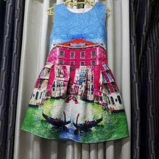 Canvass dress