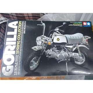 Tamiya Gorillar Spring Collection 雙星模型 電鍍版 電單車 1/6