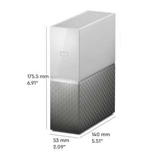 Western Digital 8TB My Cloud Home Personal Cloud Storage (WDBVXC0080HWT-NESN)