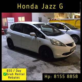 Honda Fit G - Grab Car Rental
