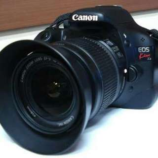 Canon KissX4 with 2 Free EF Lenses